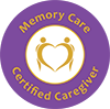 Memory Care Certified Caregive Badge