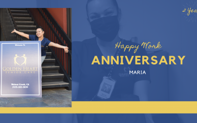 Happy Work Anniversary Maria!